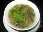 Soupe épicée aux crevettes - thom yum goong