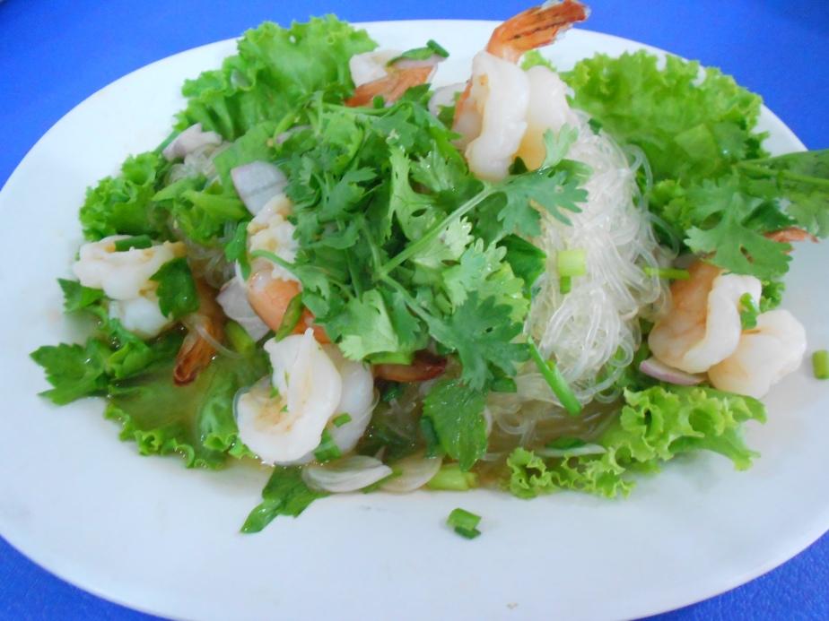 Salade de vermicelles de riz – yam wun sen