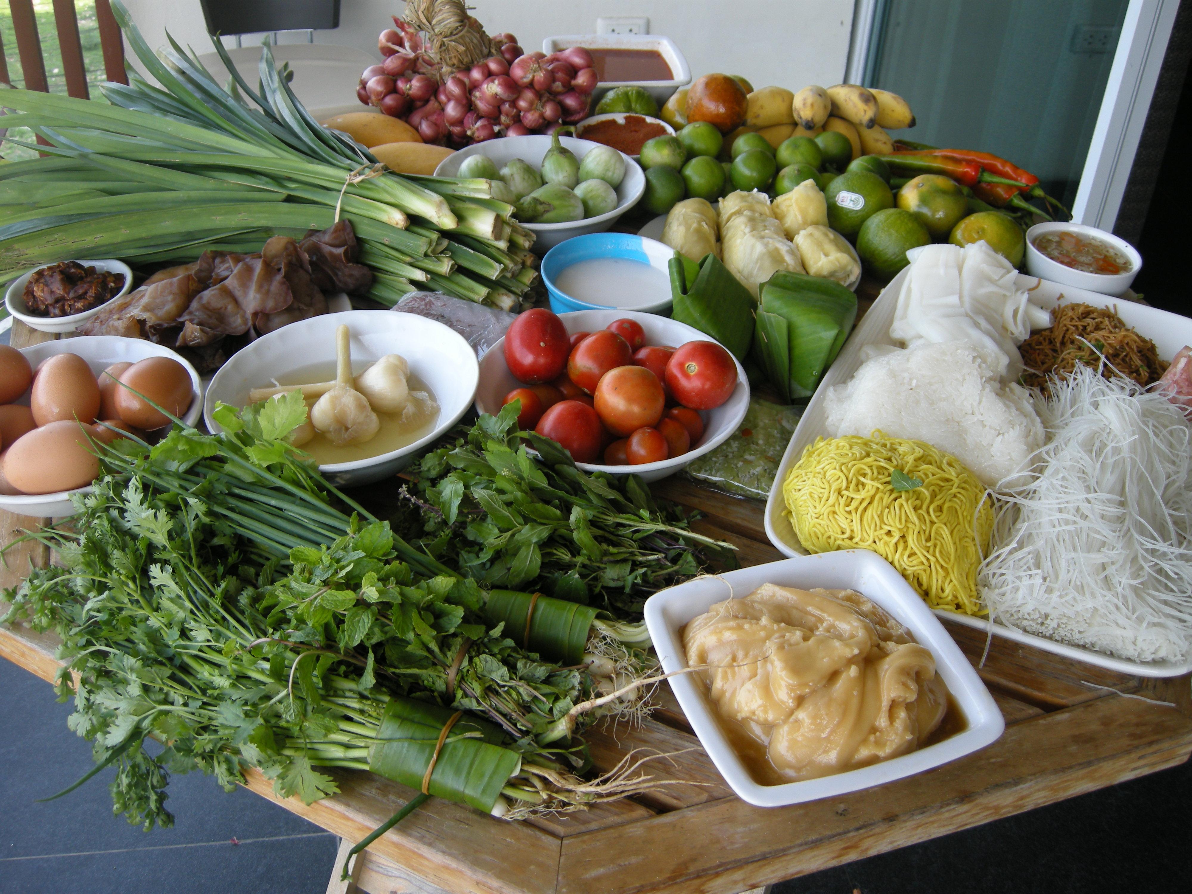 Ingr dients de la cuisine thai cuisine tha landaise for Cuisine thailandaise