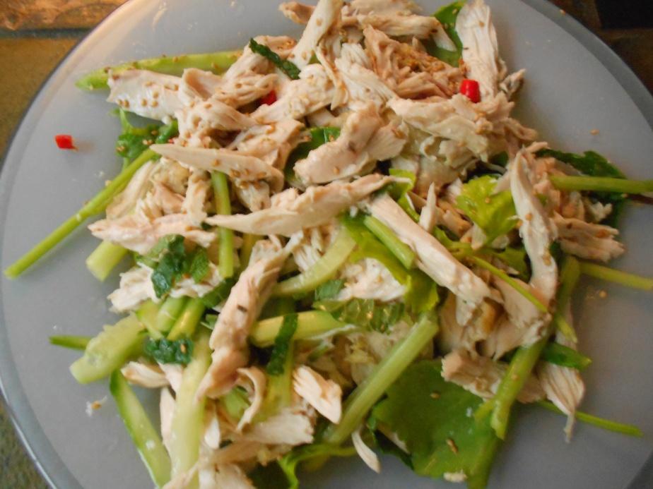 Salade de poulet thaï – yam gai