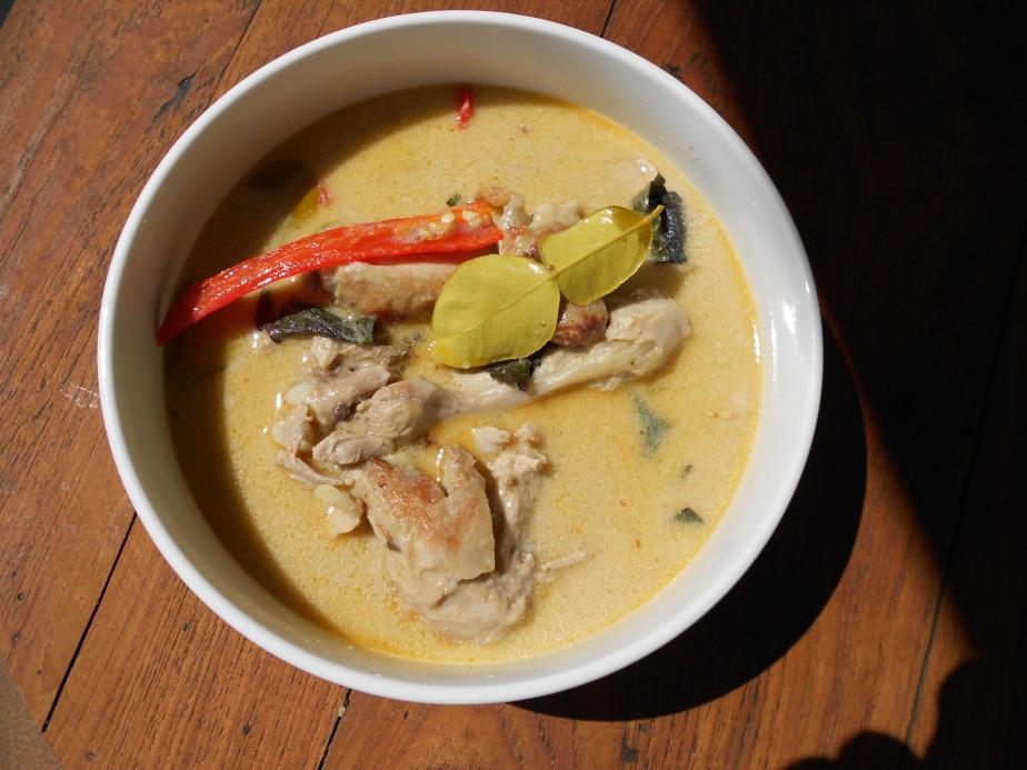 Curry de poulet panaeng – panaeng gai