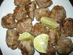 Boulettes de viande épicées - nua tod