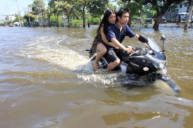 Moto à Bangkok