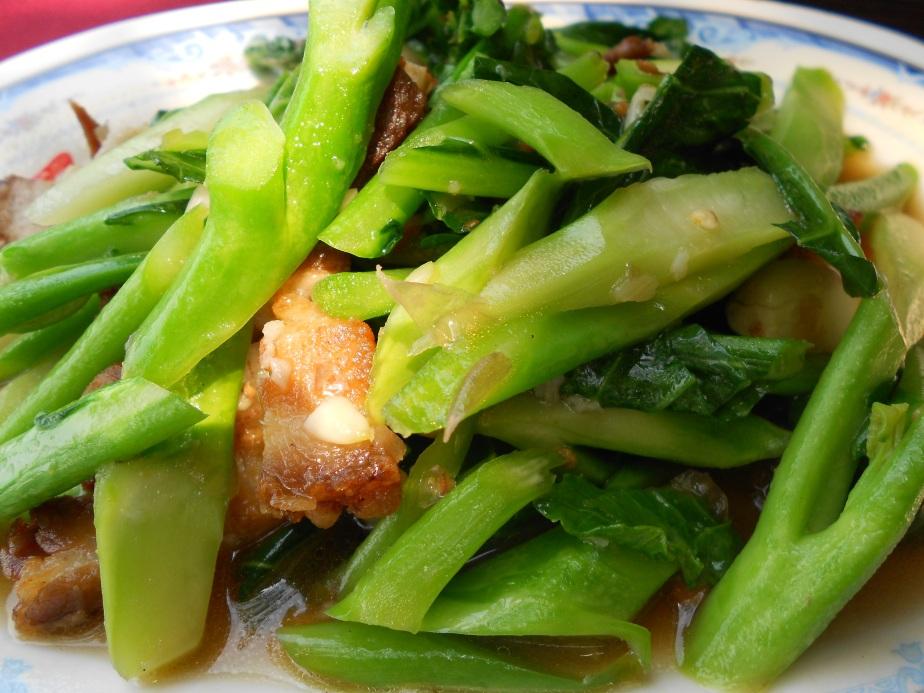 Sauté de brocoli et porc