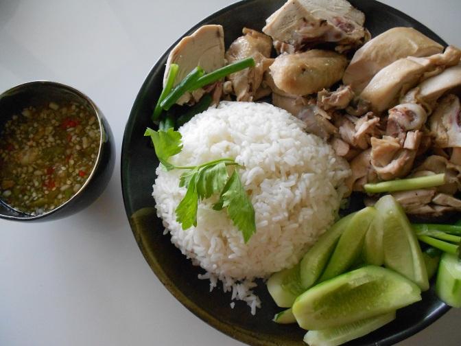Riz et poulet façon thaïlandaise