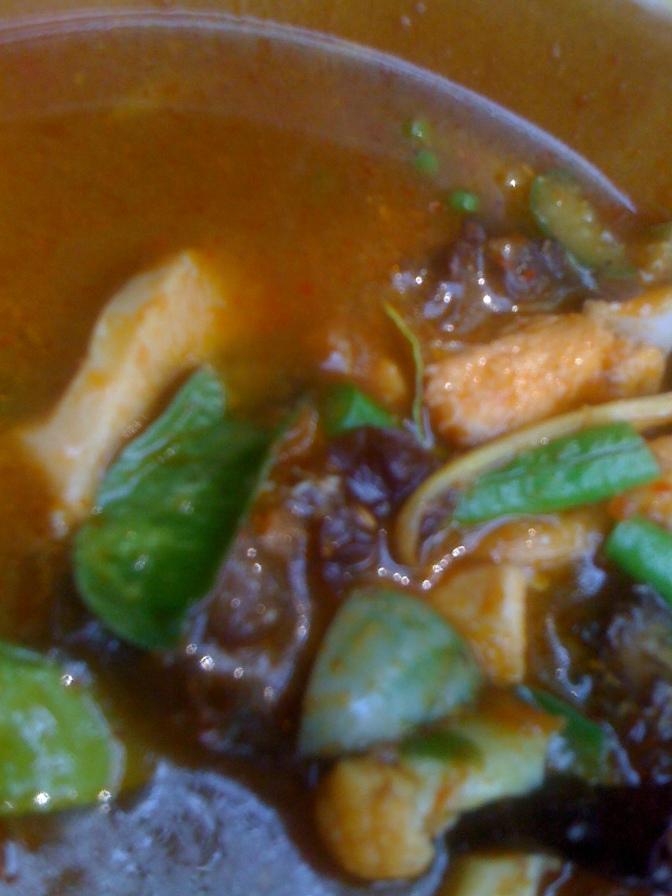 Curry sans noix de coco